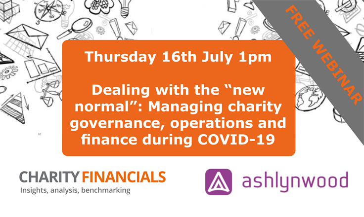 Live Webinar: Managing charity governance, operations and finance during COVID-19